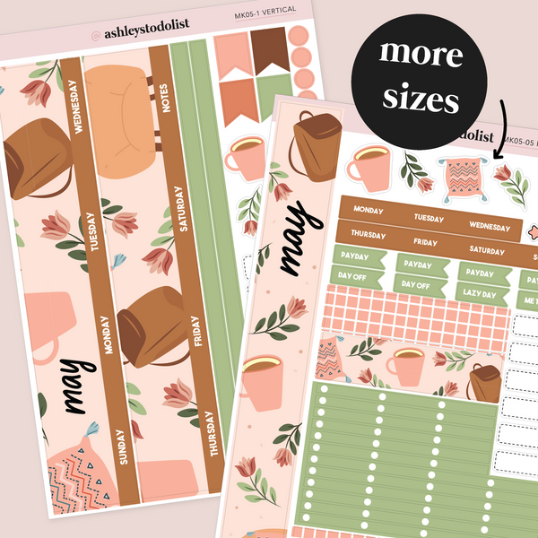 May Monthly Sticker Kit