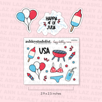 Happy Birthday 'Merica - Fourth of July / Memorial Day Minis
