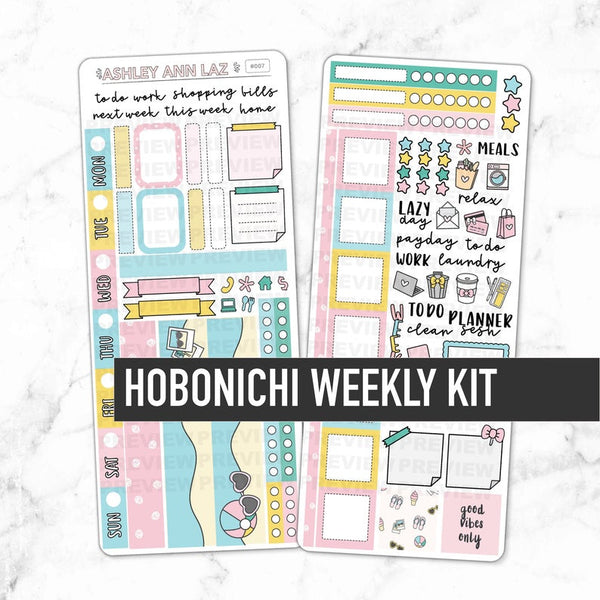 Hobonichi Weekly Kit - Summer Vibes
