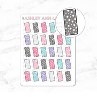 Kawaii Washi / Planning / Hobonichi Jelly Cover Planner Stickers - #047