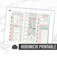 Hobonichi Weeks Printable Kit - Cactus