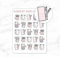 Kawaii Mimi Washi / Planning / Hobonichi Planner Stickers