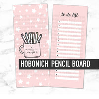 Hobonichi Laminated Pencil Board