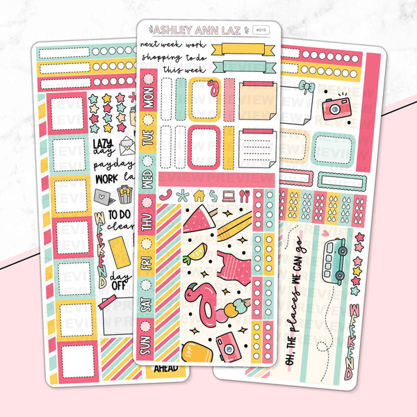 Hobonichi Weekly Kit - Summer Days