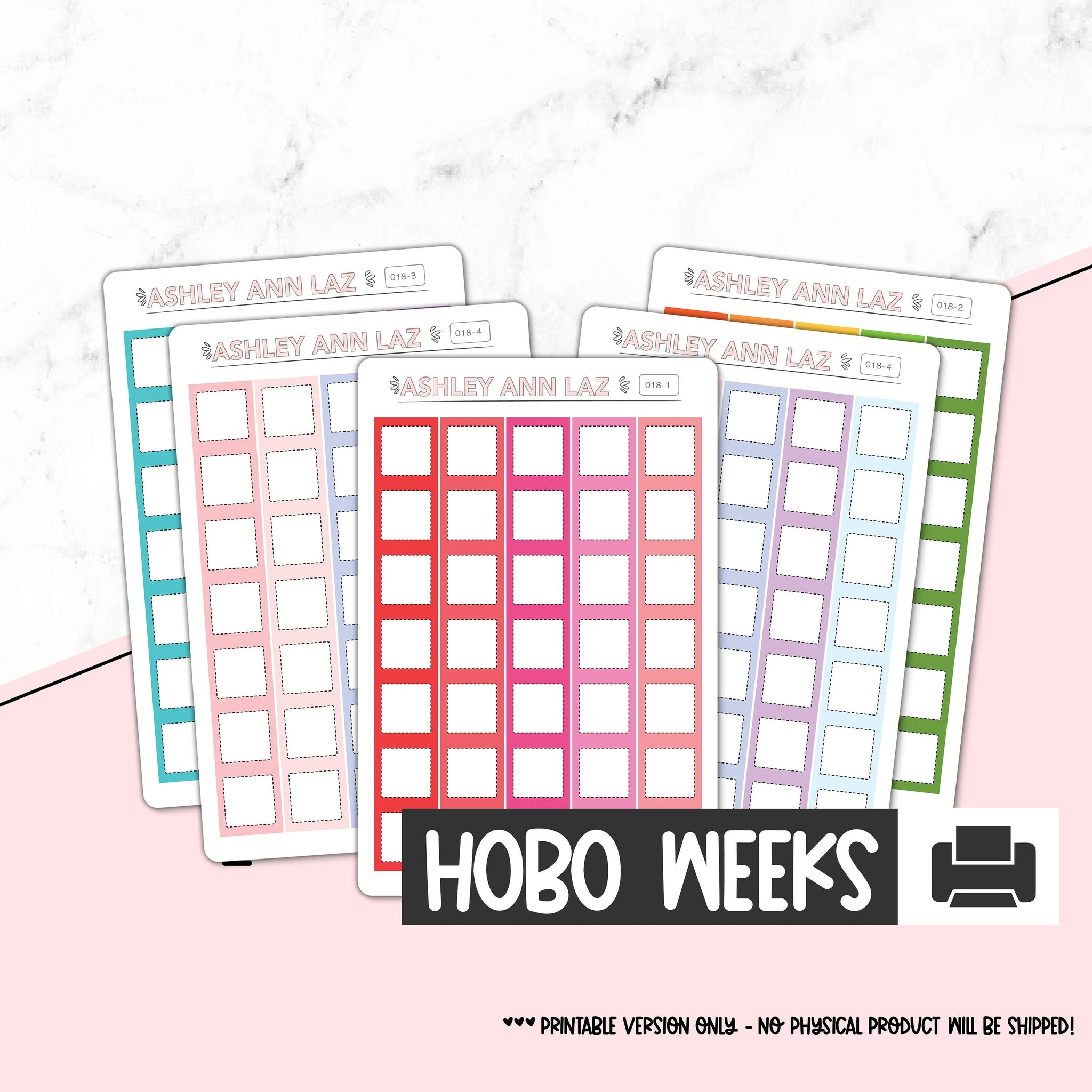 Hobonichi Weeks Full Boxes