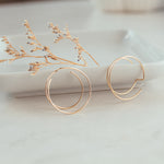 Load image into Gallery viewer, Gold-filled Loop Earrings