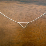 Load image into Gallery viewer, Geometric Triangle Necklace