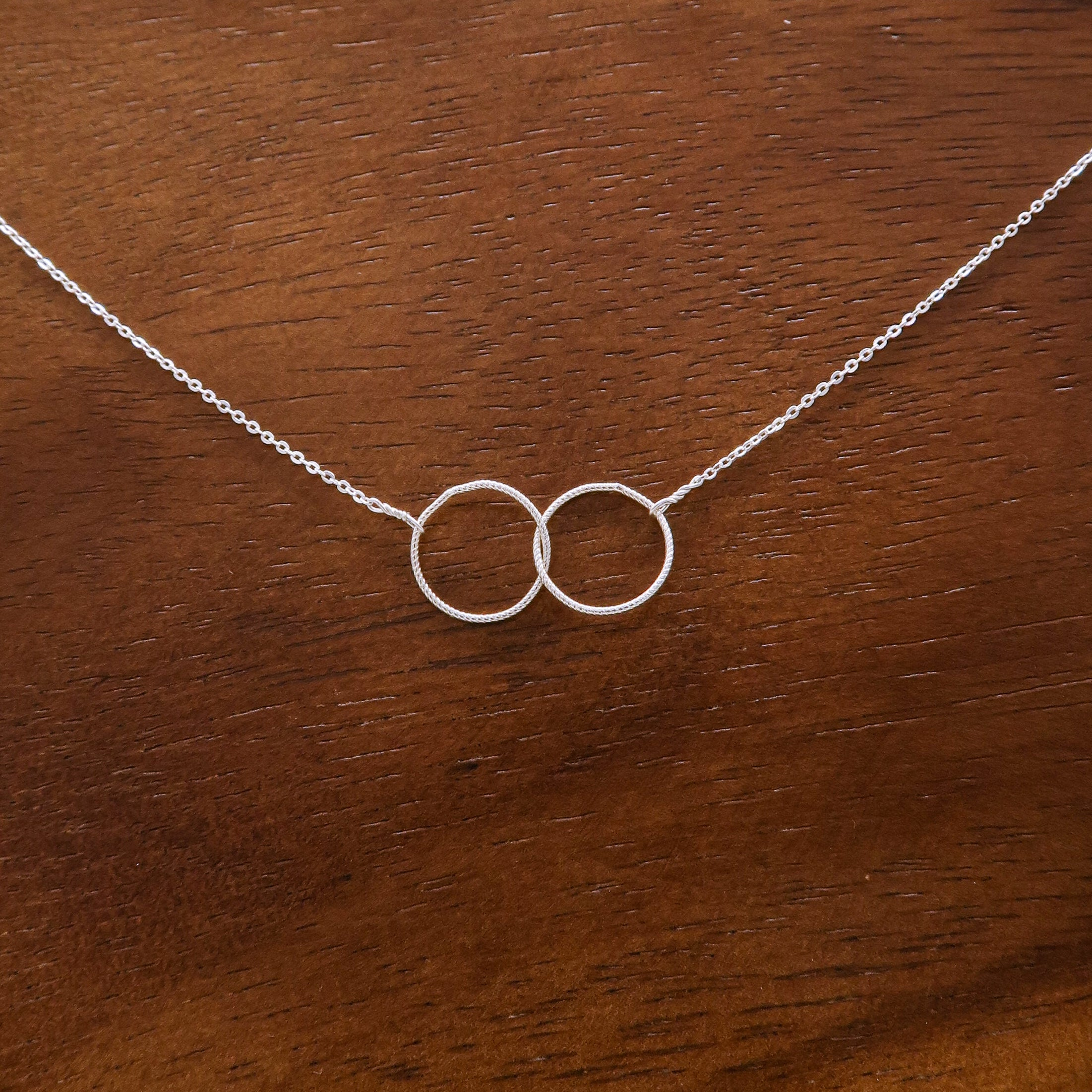 Infinity Ring Necklace