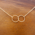 Load image into Gallery viewer, Infinity Ring Necklace