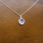 Load image into Gallery viewer, Clear Pendant Necklace