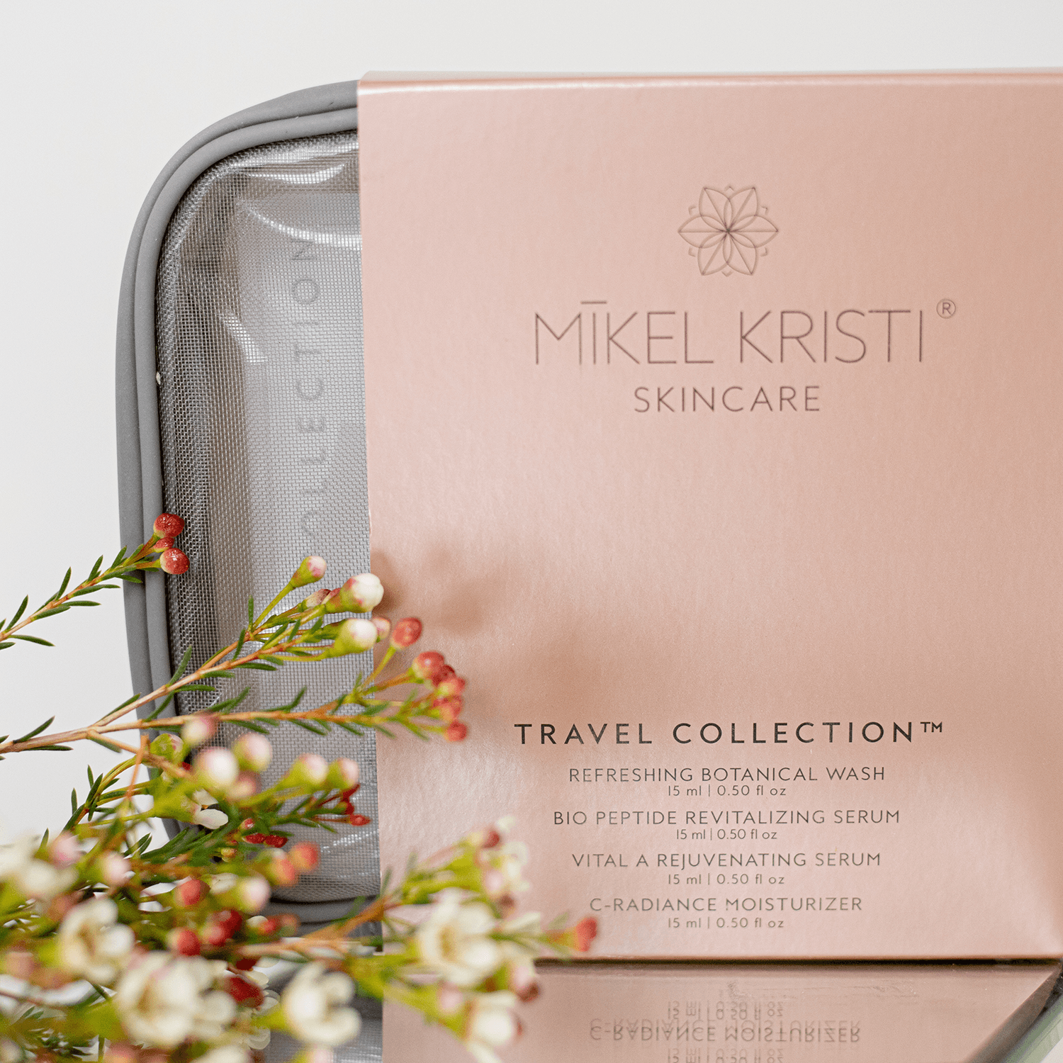 TSA Travel Kit by Mikel Kristi