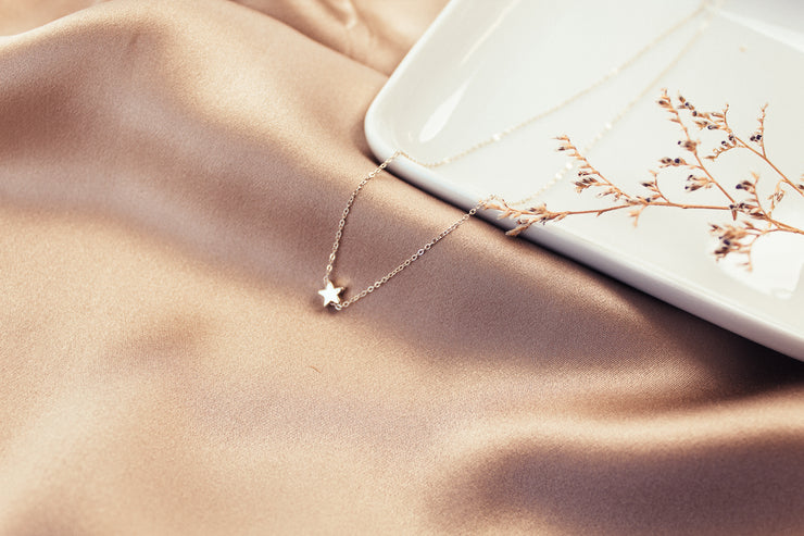 Lucky Star Sterling Silver Necklace