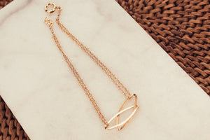 Gold Loop Forever Loved Bracelet