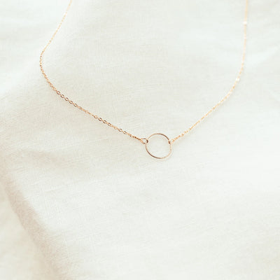 Kya Eternity Circle of Life Necklace