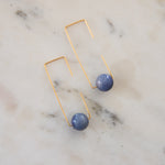 Load image into Gallery viewer, Geometric Stone Earrings