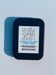 Breathe Again Herbal Chest Rub