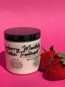 Tangles and Beyond Strawberry Monthly Protein Remedy