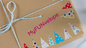 Myfunvelope children's  craft subscription box Canada
