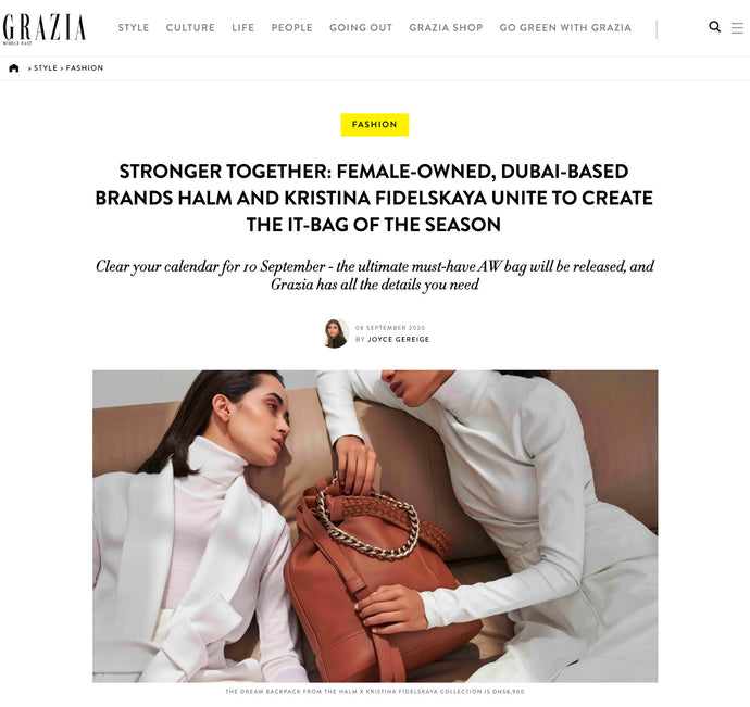 GRAZIA MIDDLE EAST | SEPTEMBER 2020