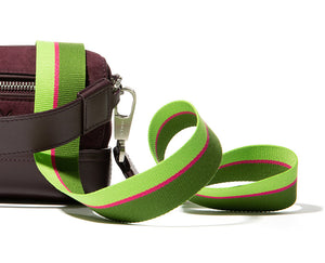 THE FLAT WOVEN STRAP | Green