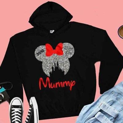 Glitter Adults Disney Family Vacation Hoodie - We're All Ears Boutique