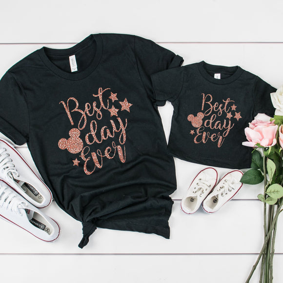 Kids Best Day Ever Tshirt - We're All Ears Boutique