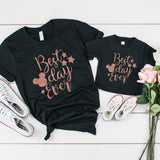 Adult's Best Day Ever Tshirt - We're All Ears Boutique