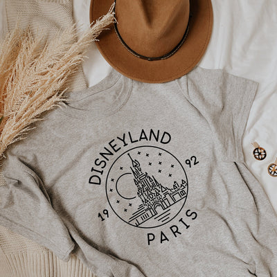 Disneyland Paris Est. 1992 Tshirt (Pick your own colours) - We're All Ears Boutique