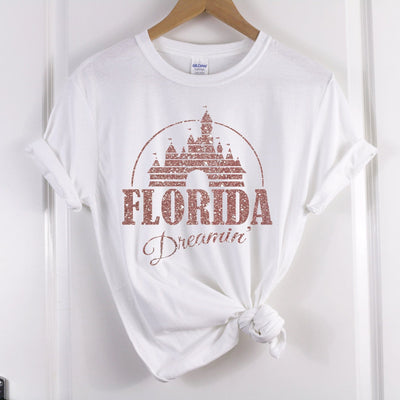Florida/ California Dreaming Disney Tshirt - We're All Ears Boutique