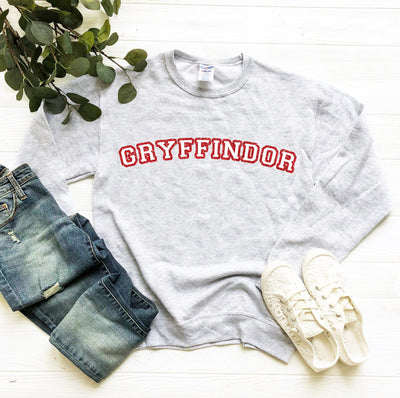 Gryffindor House Glitter Sweatshirt | Harry Potter - We're All Ears Boutique