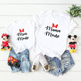 Mini Mouse Tshirt - We're All Ears Boutique