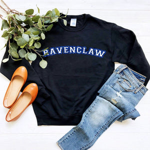 Ravenclaw House Glitter Sweatshirt | Harry Potter - We're All Ears Boutique