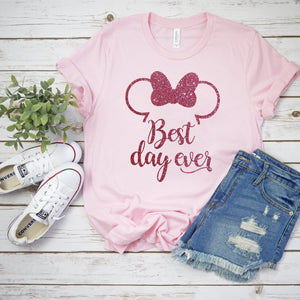 Best Day Ever Disney Tshirt - We're All Ears Boutique