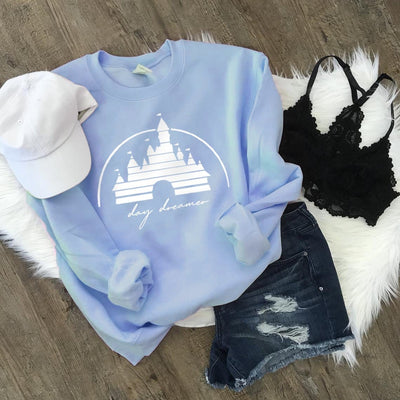 Day Dreamer Disney Sweatshirt (Pick your own colours) - We're All Ears Boutique