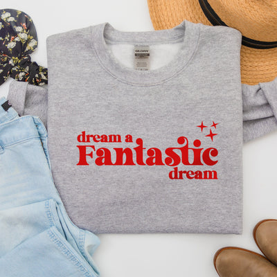 Dream A Fantastic Dream - Fantasmic Disney Sweatshirt (Pick your own colours) - We're All Ears Boutique