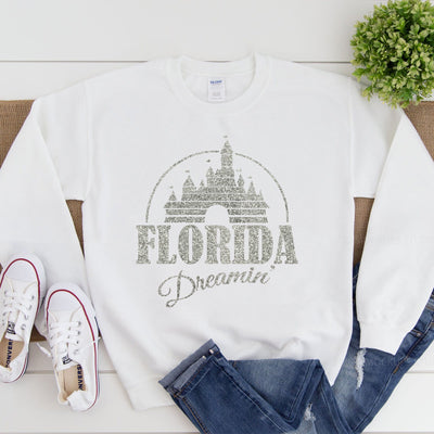 Florida/California Dreaming Sweatshirt (Pick your own colours) - We're All Ears Boutique