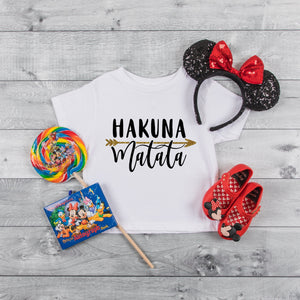 Kids Hakuna Matata Tshirt - We're All Ears Boutique