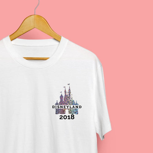 Women's Holographic Castle Autograph Tshirt - We're All Ears Boutique