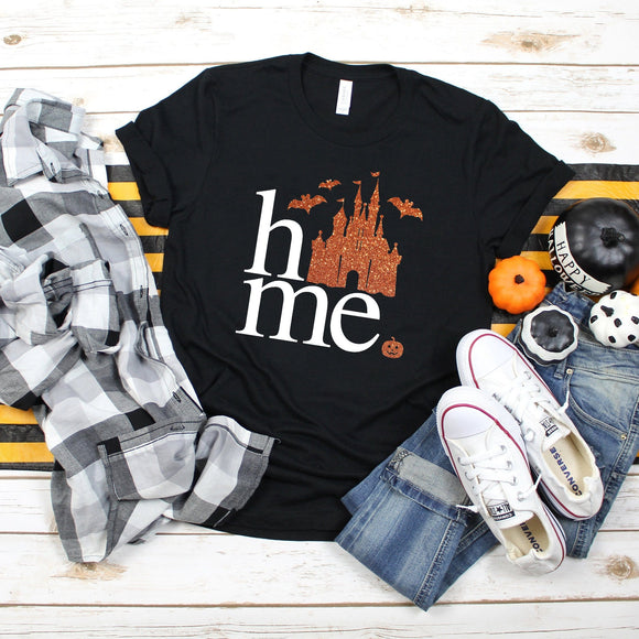 Home Halloween Tshirt | Halloween - We're All Ears Boutique