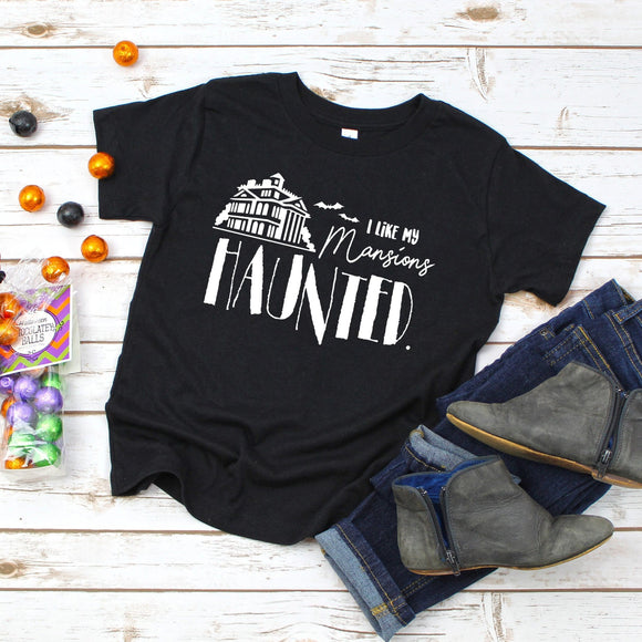 I Like My Mansions Haunted Tshirt | Halloween - We're All Ears Boutique