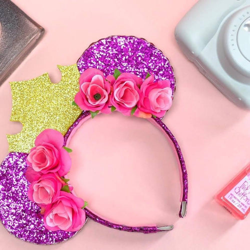 Sleeping Beauty Inspired Mouse Ears - We're All Ears Boutique