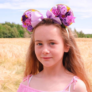 Rapunzel Inspired Mouse Ears - We're All Ears Boutique