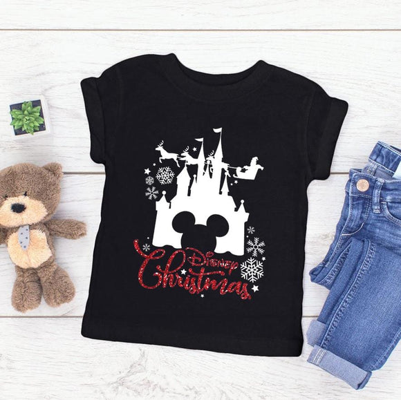 Children's Disney Christmas Tshirt - We're All Ears Boutique