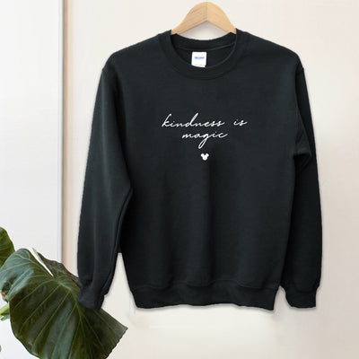 """Kindness is Magic"" Charity Sweatshirt (Pick your own colours) - We're All Ears Boutique"