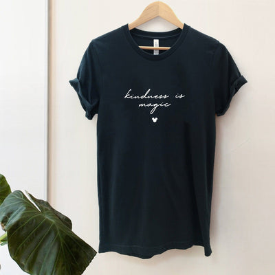 """Kindness is Magic"" Charity Tshirt (Pick Your Own Colours) - We're All Ears Boutique"