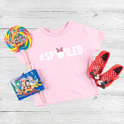 """SPOILED"" Kids Disney Tshirt - We're All Ears Boutique"