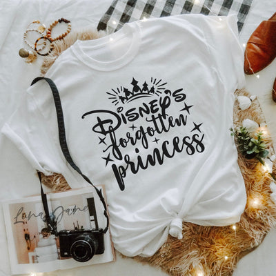 Disney's Forgotten Princess Tshirt - We're All Ears Boutique