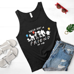 """You've Got A Friend in Me"" Vest Tank Top - We're All Ears Boutique"