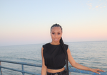 Mya's Crop Top Black - Nomi Armoire