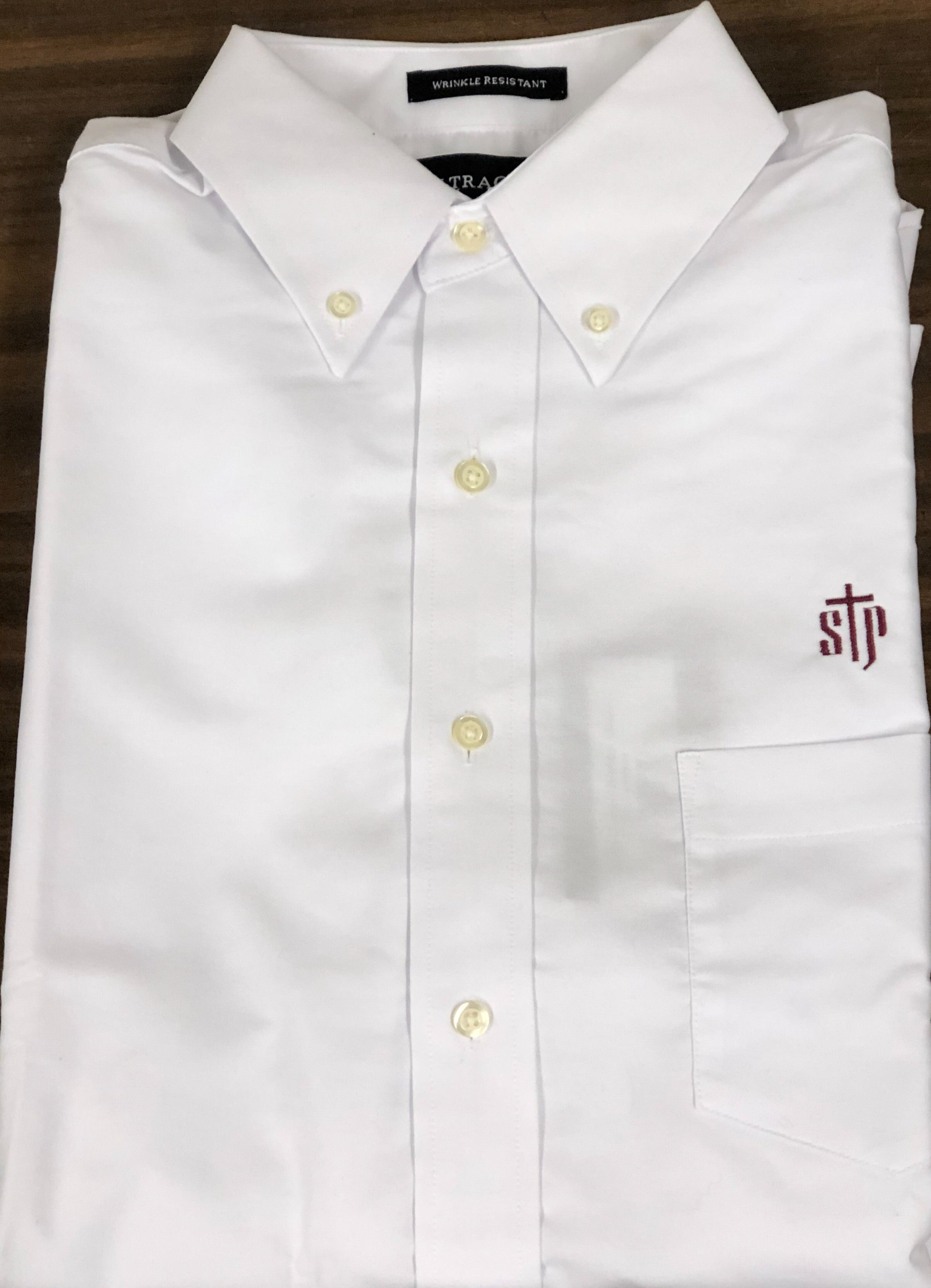 White Oxford Button Down